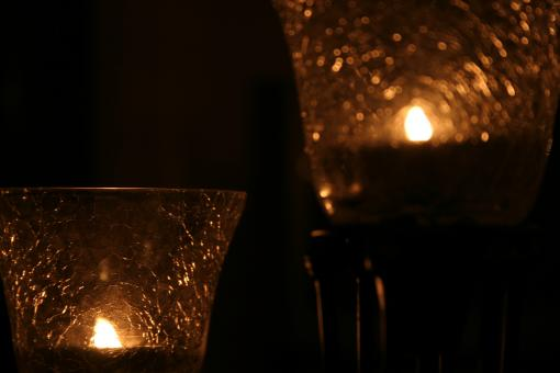 Light and candle effect - Free Stock Photo