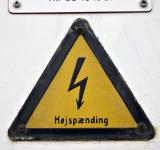 Free Photo - Danish High Voltage Sign