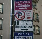 Free Photo - Parking signs