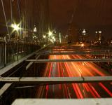 Free Photo - New York City traffic by night