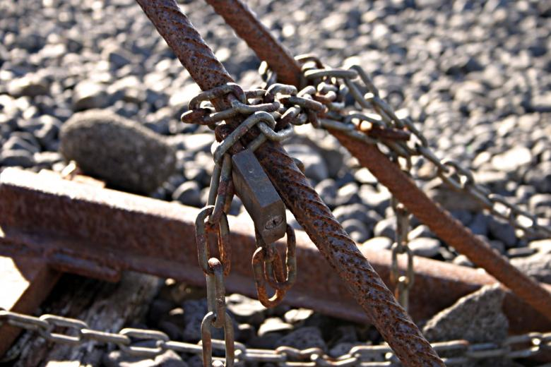 Free Stock Photo of Rusted chains Created by Bjorgvin Gudmundsson