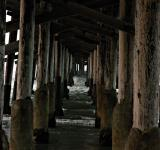 Free Photo - Waves under the pier