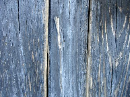 Blue wood texture - Free Stock Photo