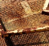 Free Photo - Rusted wire grid