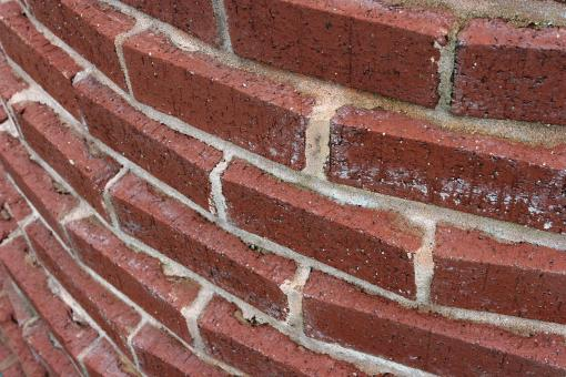 Red brick wall - Free Stock Photo