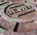 Free Photo - Rusted manhole
