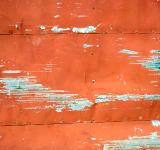 Free Photo - Orange metal surface