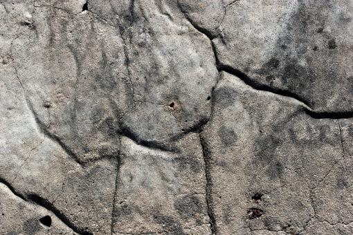 Cracked rock surface - Free Stock Photo