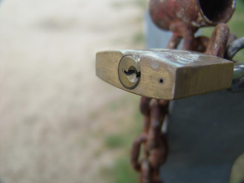 Free Stock Photo of Lock Created by javier baranda
