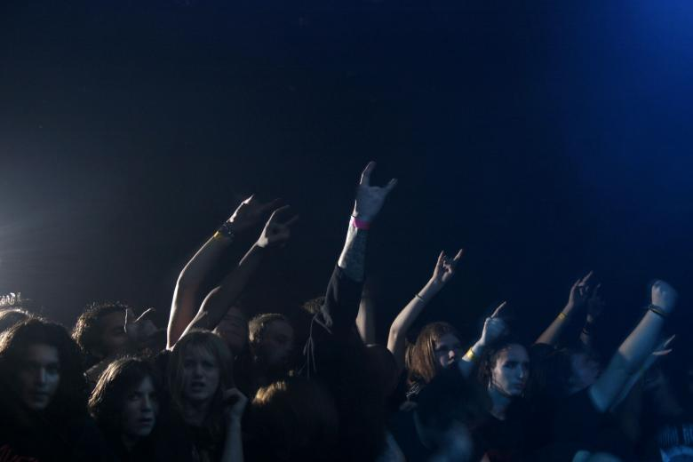 Free Stock Photo of Concert crowd Created by Bjorgvin