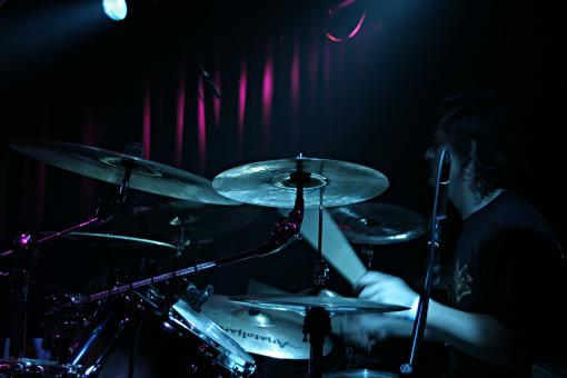 Playing drums - Free Stock Photo