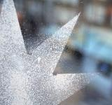 Free Photo - Spray snow christmas star