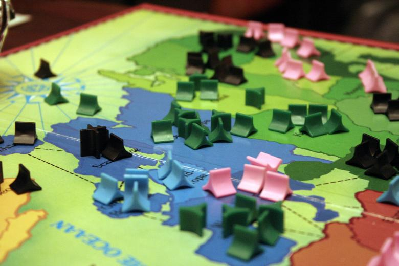 Free Stock Photo of Risk boardgame 01 Created by damien van holten