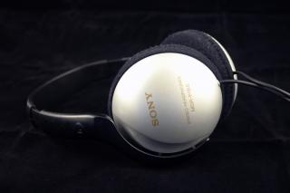 Sony headphones Free Photo