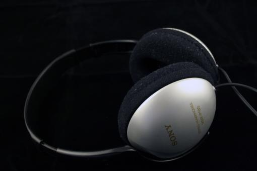 Sony headphones - Free Stock Photo