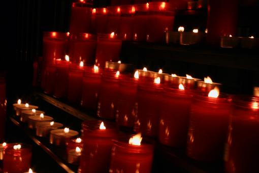 Red Candles - Free Stock Photo