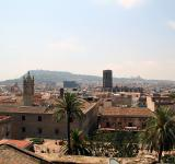 Free Photo - Rooftop view of the city of Barcelona, S