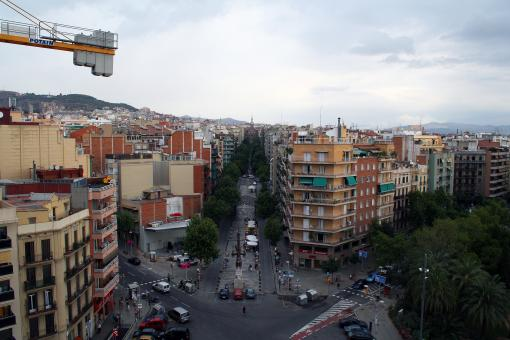 View from top of office building - Barce - Free Stock Photo