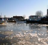 Free Photo - Frozen harbor