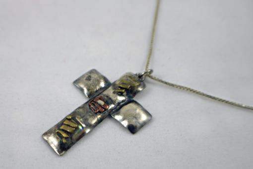 Cross necklace - Free Stock Photo