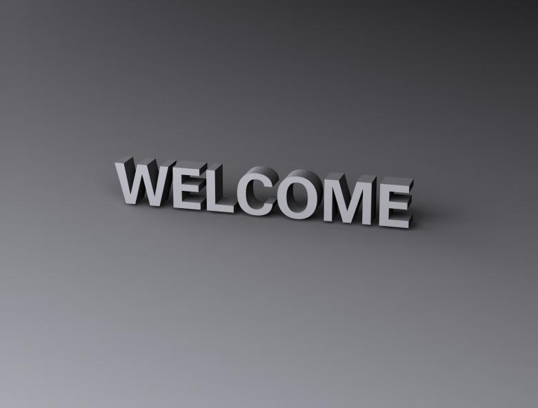Free Stock Photo of Welcome Created by Bjorgvin Gudmundsson