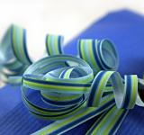 Free Photo - Blue and green ribbon