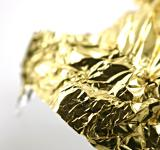 Free Photo - Golden tin foil