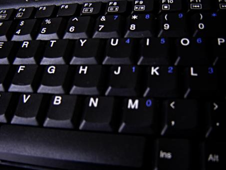 Black keyboard - Free Stock Photo