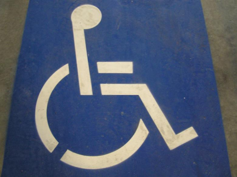 Free Stock Photo of Disabled road sign Created by Osama Hasan Khan