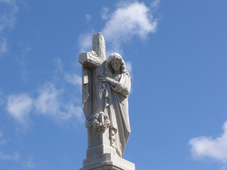 Free Stock Photo of Statue of christ Created by Osama Hasan Khan