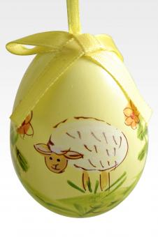 Yellow easter egg - Free Stock Photo