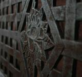 Free Photo - Metallic gate closeup