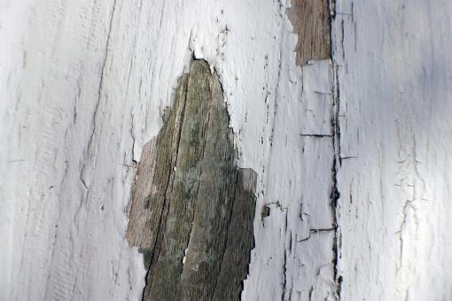 Cracked wood wall - Free Stock Photo