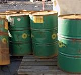 Free Photo - Green oil barrels