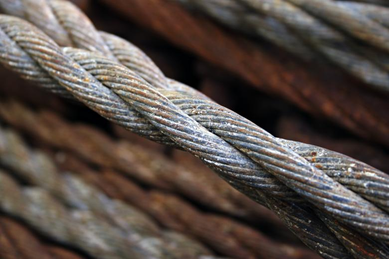 Free Stock Photo of Rusted steel wires Created by Bjorgvin Gudmundsson