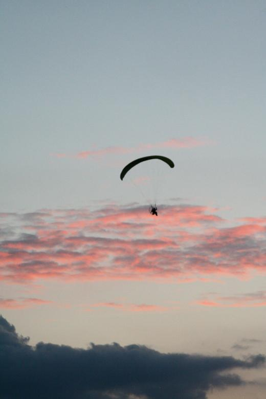 Free Stock Photo of Paraglider Created by trevor henry
