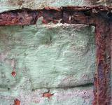 Rusted metal frame - Free Stock Photo