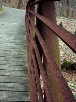 Rusted fence - Free Stock Photo