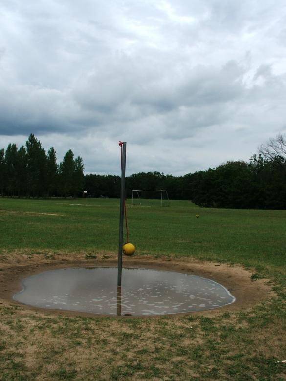 Tetherball after a rain Free Photo