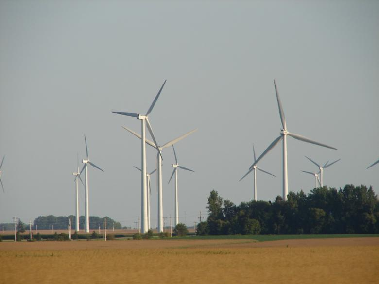 Free Stock Photo of Wind Farm Created by jenna yeager