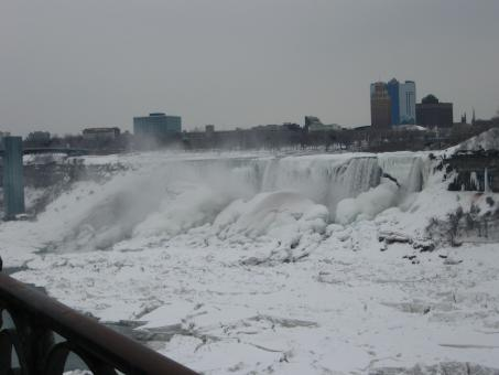 winter at niagara falls - Free Stock Photo