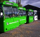 Free Photo - New Zealand is about green buses