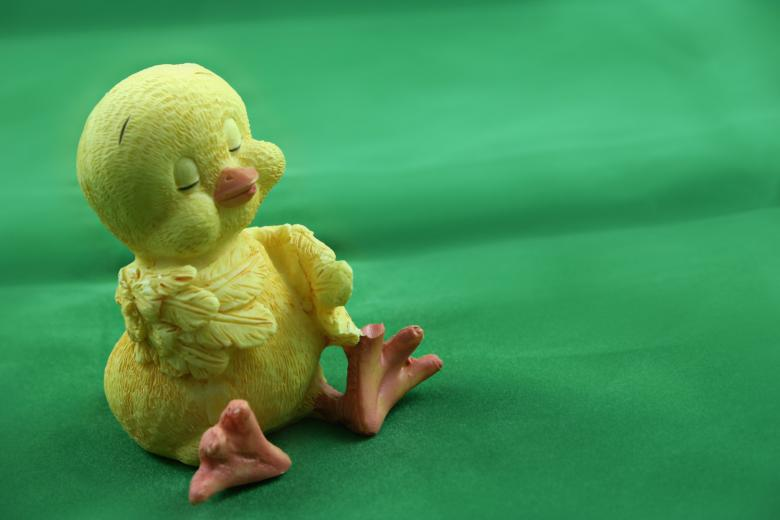 Free Stock Photo of Cute Easter Chick Created by Bjorgvin Gudmundsson
