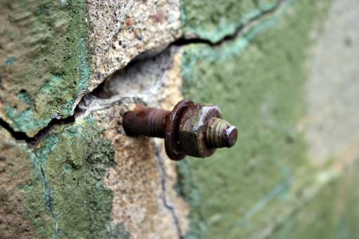 Rusted steel bolt - Free Stock Photo