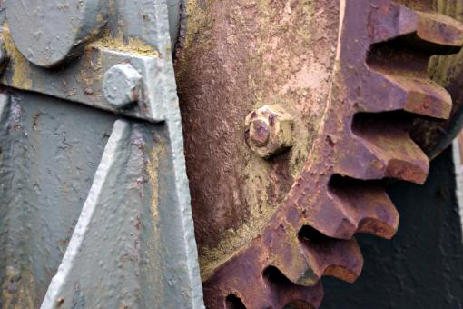 Rusted Gear - Free Stock Photo
