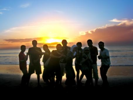 Sunrise group - Free Stock Photo