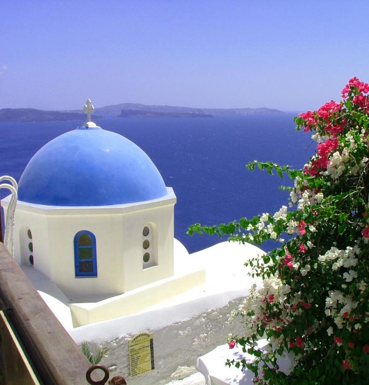 Free Stock Photo of santorini Created by Frank Martin
