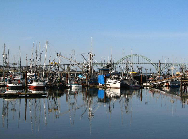 Free Stock Photo of yaquina bay boats Created by Derek Helt