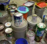 Free Photo - Paint cans