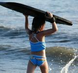 Free Photo - Girl surfing
